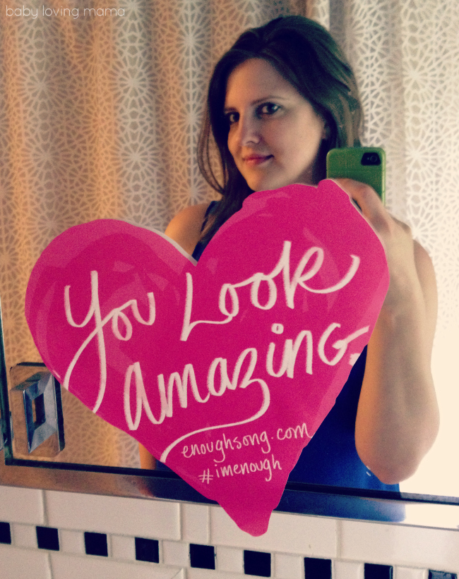 I'm Enough You Look Amazing Decal