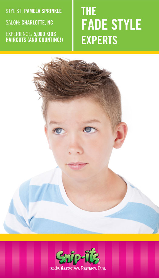 Kids Hairstyle Fade Style Snip Its