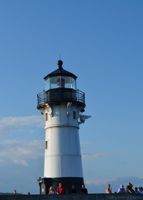 Lighthouse Lake Superior Duluth MN