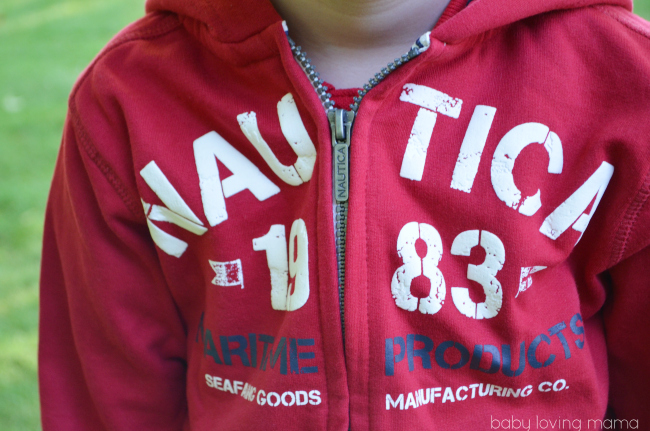 Moxie Jean Kids Nautica Sweatshirt NEW