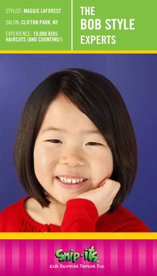 Perfect Bob Hairstyle for Kids Snip Its