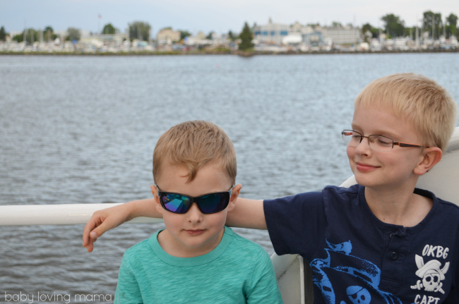 Vista Star Cruise Duluth MN Lake Superior My Boys
