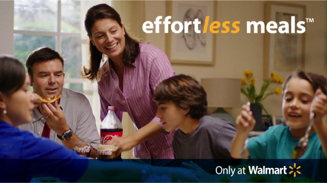 Walmart Effortless Meals Mom Logo