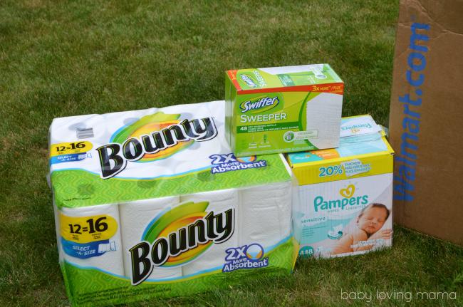 Walmart PG Bounty Pampers Swiffer
