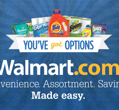 You've Got Options with P&G at Walmart.com + GIVEAWAY
