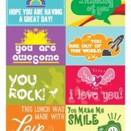 Free Printable: Lunchbox Notes for Back to School