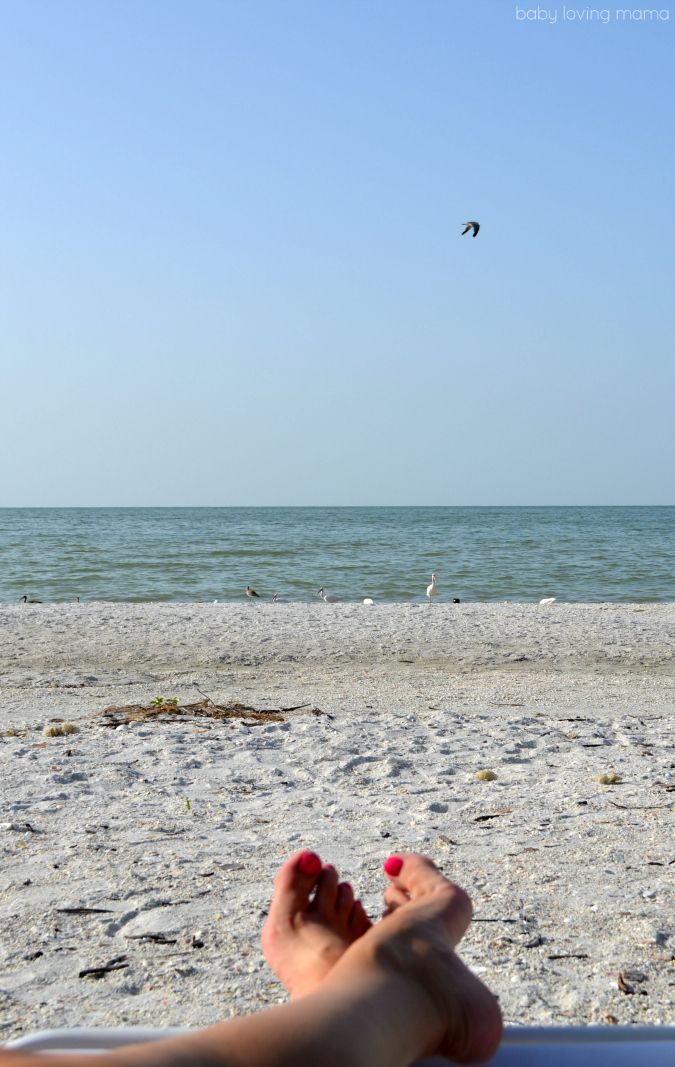 Beaches of Sanibel FL Relaxation