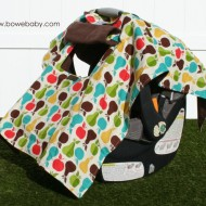 Car Seat Cover Protection with Bowe Baby Car Seat Shade + GIVEAWAY