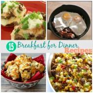15 Tasty Breakfast for Dinner Recipes