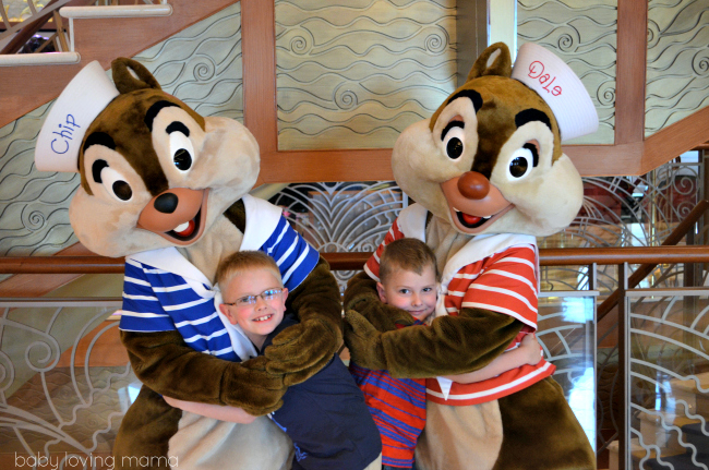 Disney Dream Cruise Chip and Dale