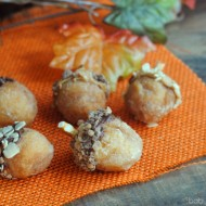Donut Acorns: Kid Friendly Fall Snack