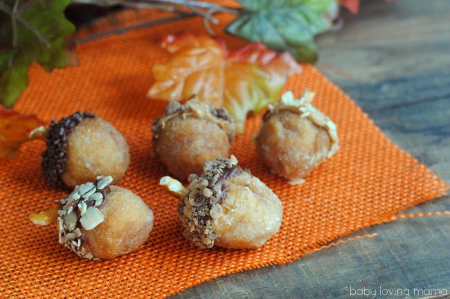 donut acorns