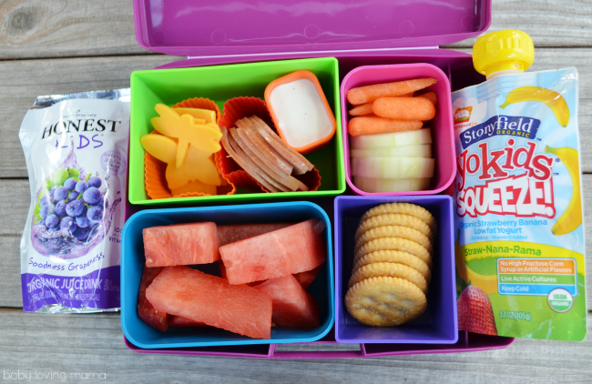 Honest Kids Rock the Lunchbox Bento Lunch
