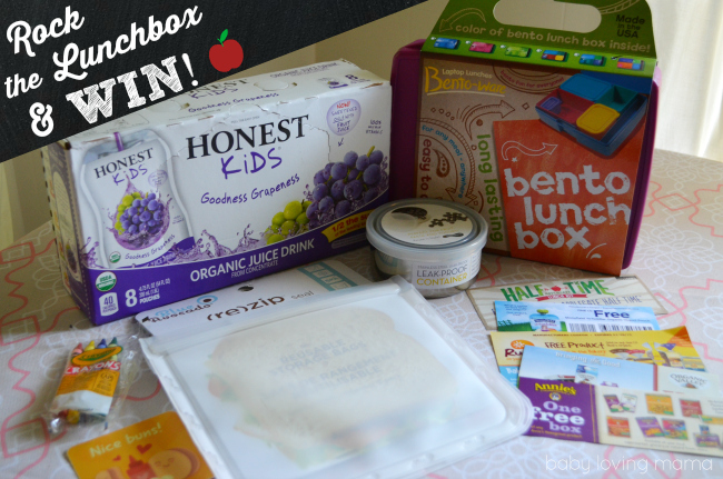 Honest Kids Rock the Lunchbox Giveaway