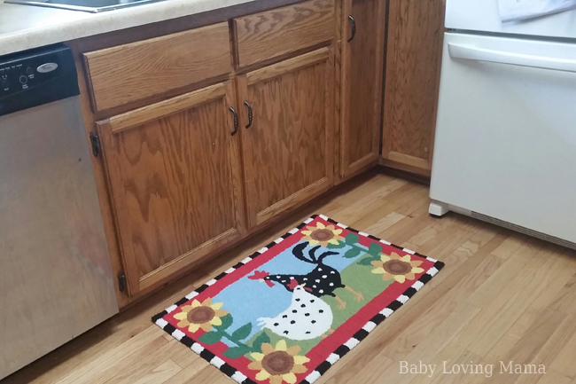 These Rugs Are So Beautiful. I Decided To Put The Funky Chickens Rug In My  Kitchen In Front Of My Sink. It Brightens The Room So Much With Itu0027s Very  Vibrant ...
