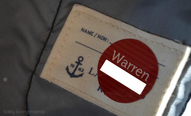 Mabels Labels Round Shoe Label