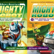 Ricky Ricotta Mighty Robot Book Series: Kids Review #RickyRicotta