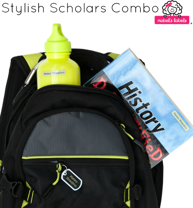 mabels labels Stylish Scholars Combo