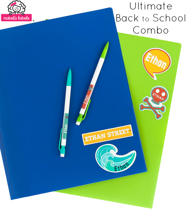 mabels labels Ultimate Back to School Combo Label Pack