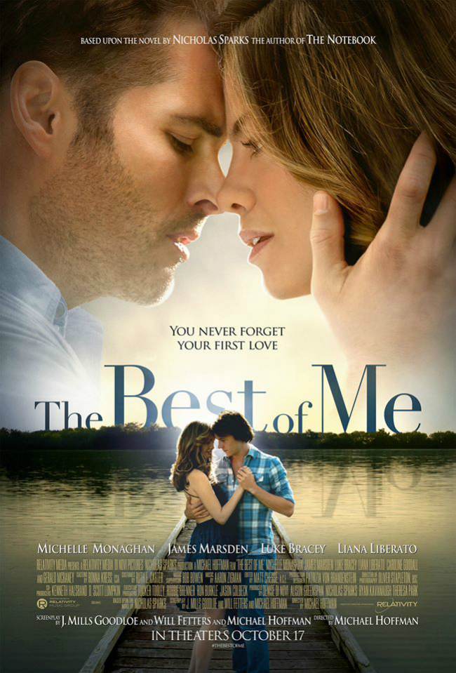 Best of Me Nicholas Sparks Poster