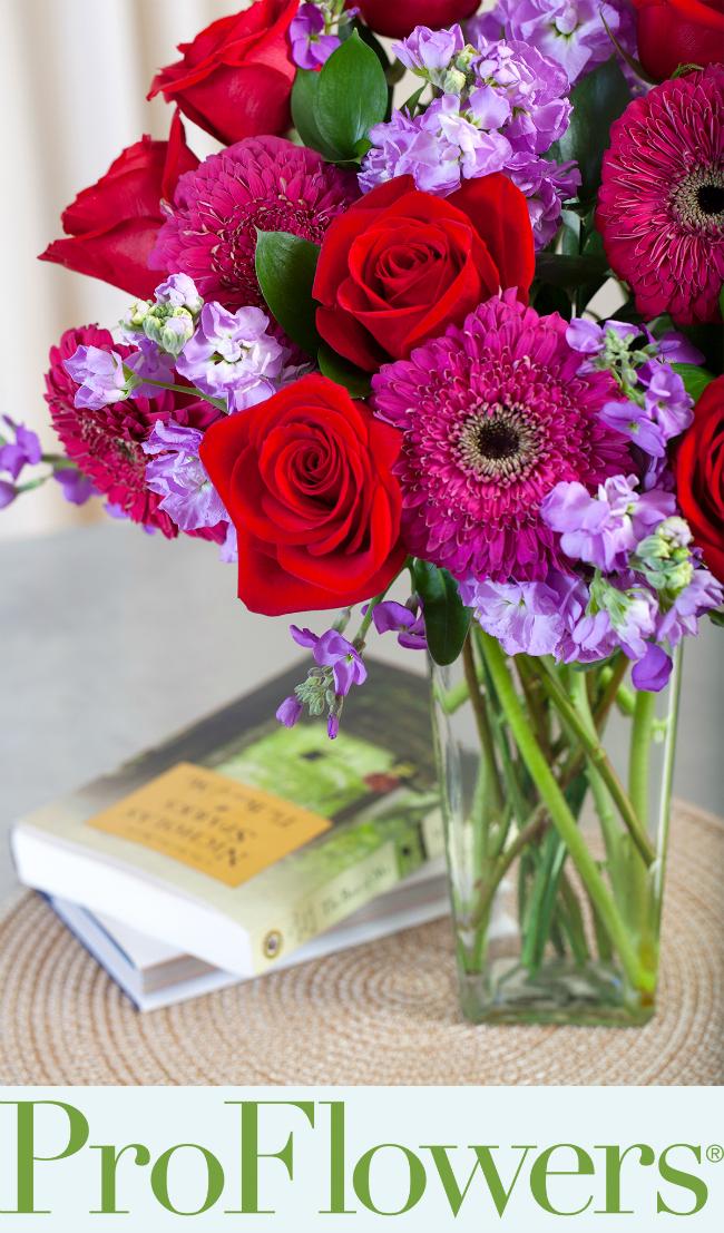 BestofMe ProFlowers Bouquet Nicholas Sparks