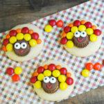 Turkey Sugar Cookies for Thanksgiving