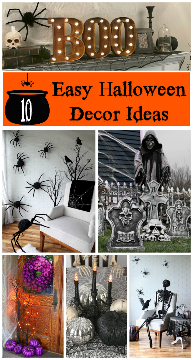 Halloween Decor Ideas That Are Easy