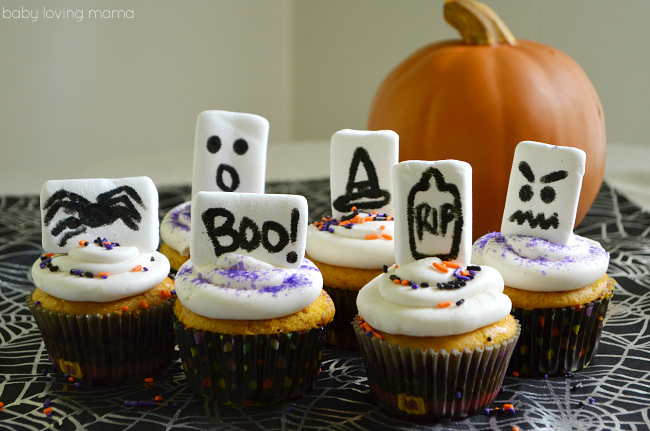 Halloween Marshmallow Toppers with Wilton Food Writers