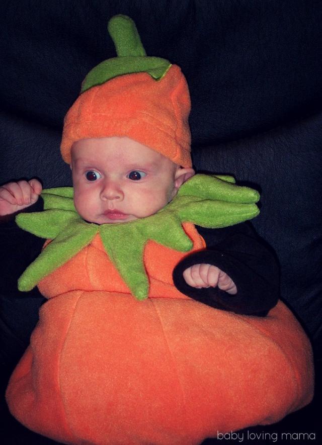 Lucian First Halloween