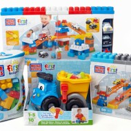 Mega Bloks First Builders Fast Tracks Raceway Review + GIVEAWAY #FirstBuilders