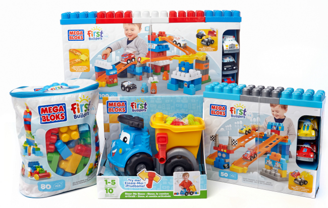 Mega Bloks First Builders Prize Pack Giveaway
