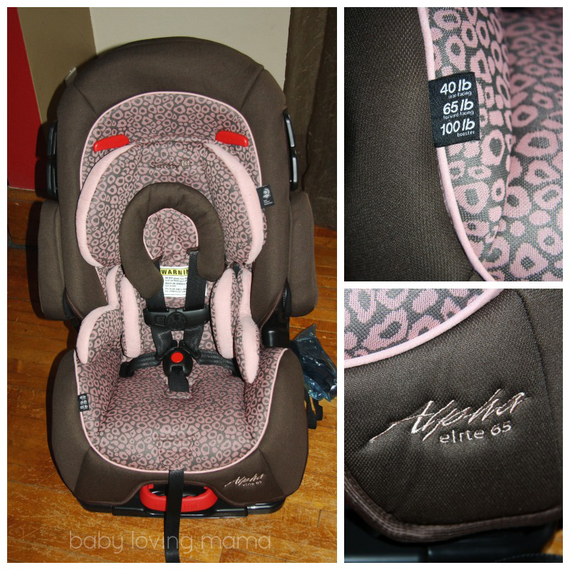 Alpha Elite 65 Convertible Car Seat SafetyFirst AlphaElite 1