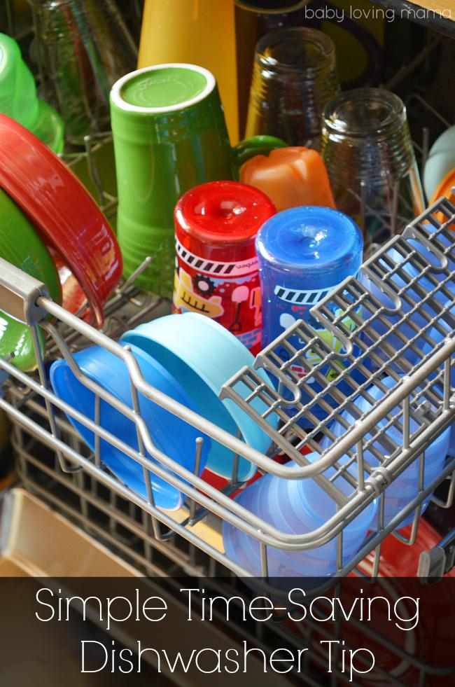 Simple Time Saving Dishwasher Tip