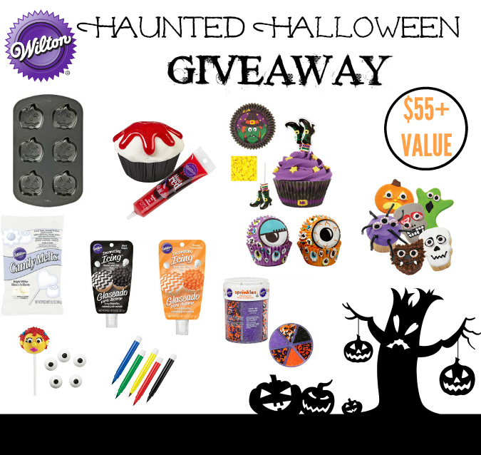 Wilton Haunted Halloween Giveaway