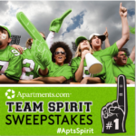 Apartments.com Team Spirit Sweepstakes: Show Your Team Pride