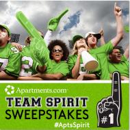 Apartments.com Team Spirit Sweepstakes: Show Your Team Pride