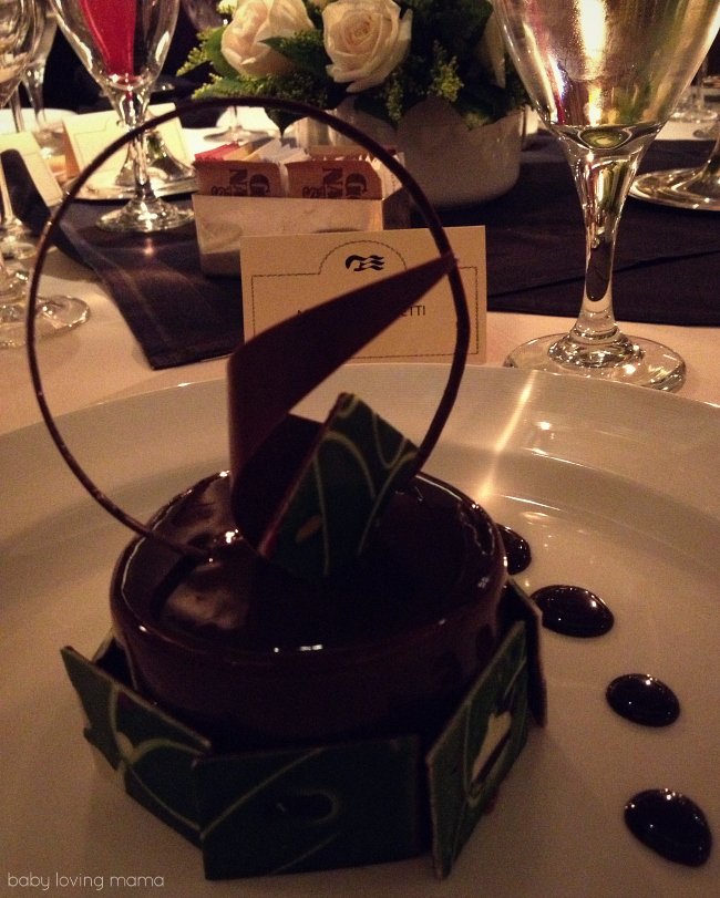 Caribbean Princess Chefs Table Chocolate Mousse