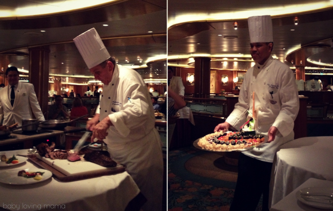 Caribbean Princess Chefs Table Dinner
