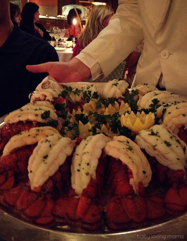 Caribbean Princess Chefs Table Lobster