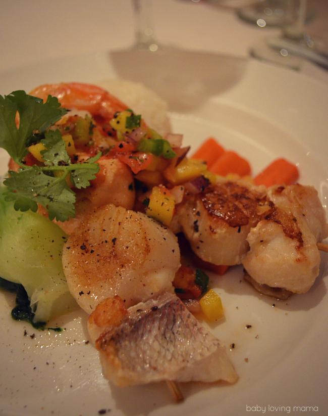Caribbean Princess Seafood Skewers