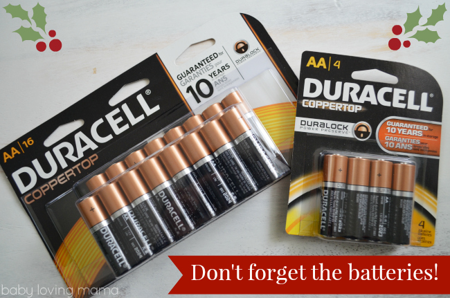 Duracell Power Your Holiday with Batteries
