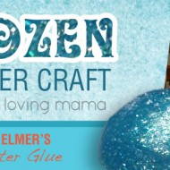 Frozen Flubber Craft Tutorial with Elmer's Classic Glitter Glue