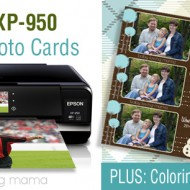 Holiday Home Printing with a Epson XP-950 Printer + Free Snowman Coloring Page Printable