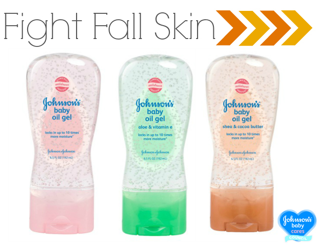 Fight Fall Skin Johnsons Baby Oil Gel