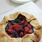 Mixed Berry Galette with Dole Frozen Fruit