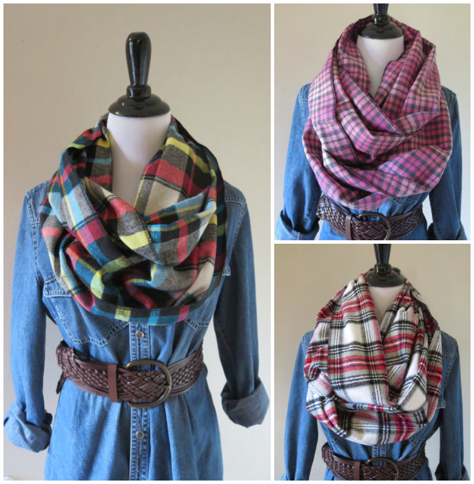 Ooh Baby Designs Etsy Plaid Scarfs Buffalo Check