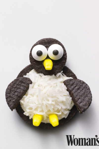 oreo penguin cookies