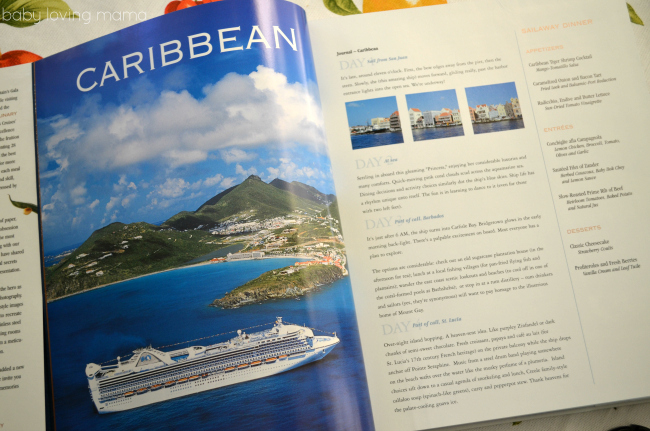 Princess Cruises Culinary Courses Cookbook Caribbean