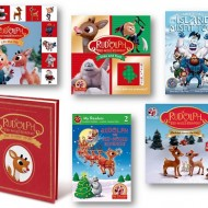 Family Holiday Traditions   Rudolph 50th Anniversary Books + GIVEAWAY #Rudolph50