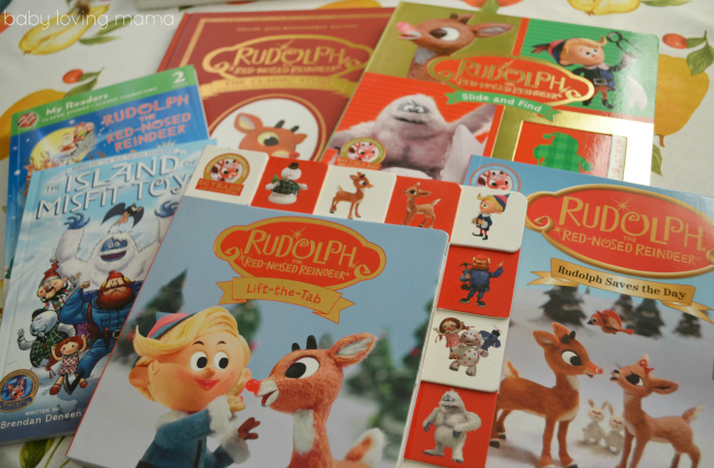 Rudolph the Red Nosed Reindeer 50th Anniversary Books